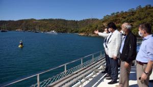 """Fethiye'de denizin nabzını ölçecek """"Akıllı Şamandıra"""" projesi hayata geçiriliyor"""