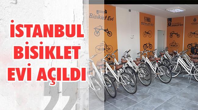 """""""İstanbul Bisiklet Evi"""" Yenikapı'da açıldı"""