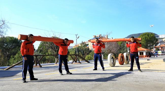 Muğla Büyükşehir Belediyesi 70 İtfaiye eri alacak
