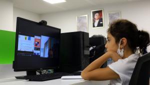 Türkan Saylan'da Uzaktan Eğitim Başladı