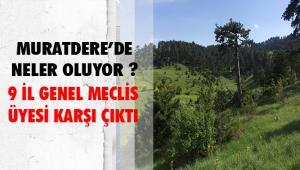 BİLECİK İL GENEL MECLİSİ'NİN VİCDANLI ÜYELERİ MURATDERE'DE ORMAN KATLİAMINA KARŞI ÇIKIYOR