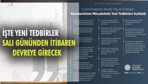 Cumhurbaşkanı Erdoğan Koronavirüsle mücadelede yeni tedbirleri açıkladı