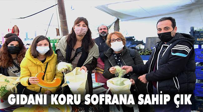 """""""Gıdanı Koru Sofrana Sahip Çık"""" kampanyasına Ataşehir Belediyesi de katıldı."""
