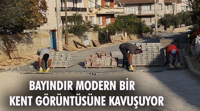 Bayındır'da Sokak ve Caddeler Yenileniyor
