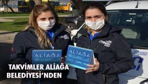 Aliağa Belediyesi'nden Kamu Kurumlarına Masa Takvimi
