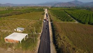 Büyükşehir 2020 Yılında 130 Km Yol Çalışması Yaptı