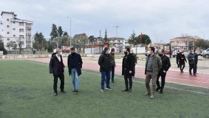 Menderes'in stadı yenileniyor