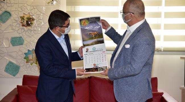 Ömer Faruk Çelik'ten Başkan Ergün'e Ziyaret