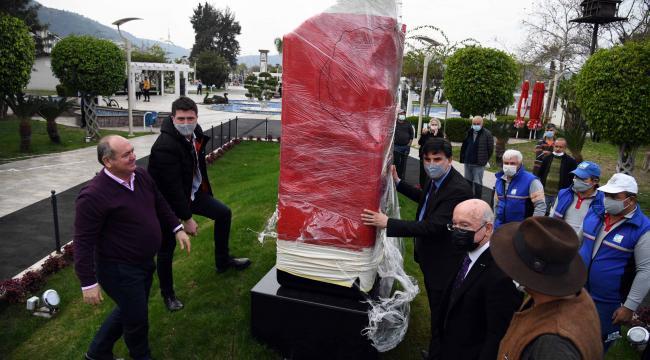Uğur Mumcu Anıtı açılış gününü bekliyor