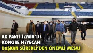 AK Parti İzmir İl Kongresi'nde geri sayım…