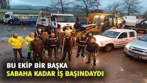 """""""EFES SELÇUK'TA BELEDİYE EKİPLERİ SABAHA KADAR İŞ BAŞINDAYDI """""""