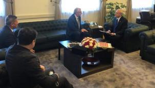 Eriş, CHP Lideri Kemal Kılıçdaroğlu'nu ziyaret etti