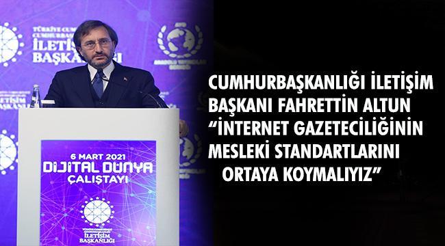 """""""DEZENFORMASYON BİR MİLLİ GÜVENLİK SORUNUDUR"""""""