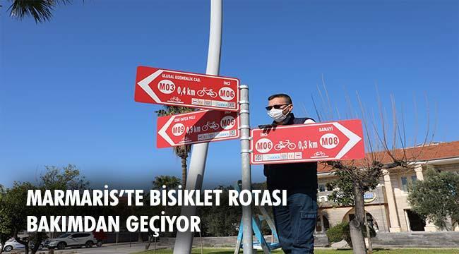 Marmaris Belediyesi yönlendirme tabelaları için yenileme çalışması başlattı