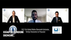 EGİAD Dünya'da Ve Türkiye'de Pandemi Ekonomisini Değerlendirdi