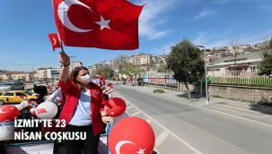 FATMA KAPLAN HÜRRİYET 23 NİSAN'I TIR İLE DOLAŞARAK KUTLADI!
