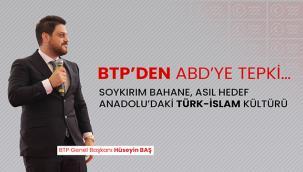 SOYKIRIM BAHANE, ASIL HEDEF ANADOLU'DAKİ TÜRK-İSLAM KÜLTÜRÜ
