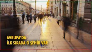 AVRUPA'NIN EN KALABALIK ŞEHİRLERİ BELLİ OLDU