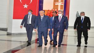 Başkan Ergün, 'Belediye Başkanları Geleneksel İstişare ve Değerlendirme Toplantısı'na Katıldı