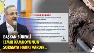 Büyükşehir'in Körfez'e akan pis su açıklamasına, Başkan Sürekli'den sert tepki