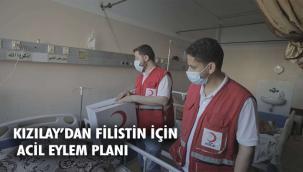 Kızılay, Filistinlilere yapılacak yardımlara ilişkin eylem planını belirledi