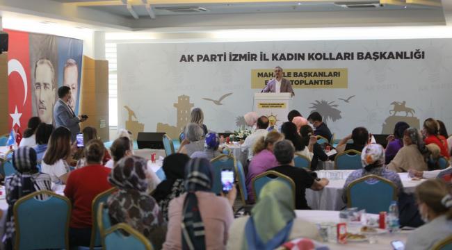 AK Parti İzmir 2023 ve 2024 seçimlerine, kadınlarla hazır