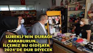 """AK Parti İzmir İl Başkanı Kerem Ali Sürekli; """"Karaburun'u biz sırtlanıyoruz, onlar ihmal ediyorlar!"""""""