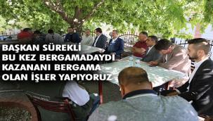 """AK Parti İzmir İl Başkanı Kerem Ali Sürekli; """"Söz verir, tutarız… Başlar, bitiririz…"""""""