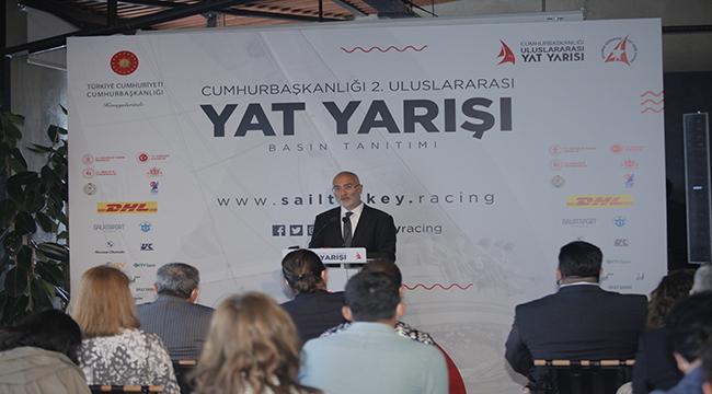 Cumhurbaşkanlığı Uluslararası Yat Yarışları bu yıl da Galataport İstanbul'da gerçekleşecek