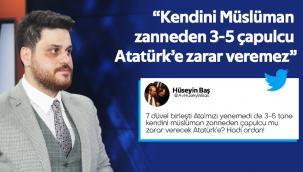 BTP Genel Başkanı Hüseyin Baş'tan tepki gecikmedi