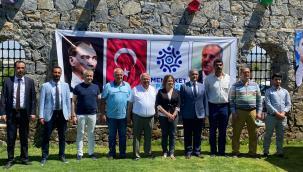 MEMLEKET PARTİSİ AYDIN BASINA TANITILDI