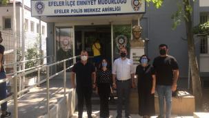 UCİM Aydın'dan Efeler İlçe Emniyet Müdürü Erciyes'e Ziyaret
