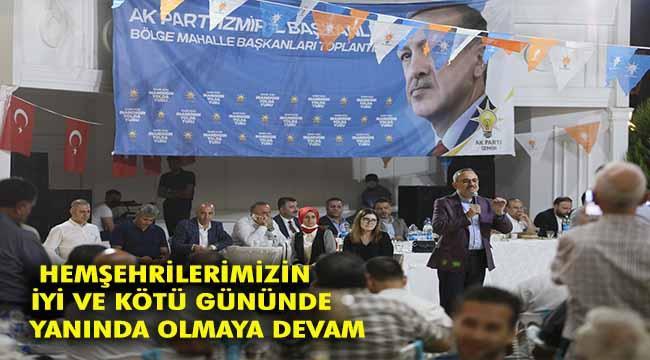 AK Parti İl Başkanı Sürekli teşkilata seslendi