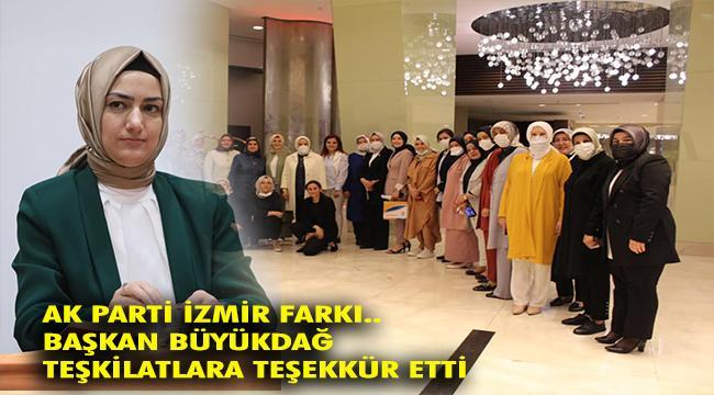 AK Parti İzmir İl Kadın Kolları üye sayısını artırdı