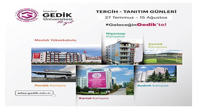 İstanbul Gedik Üniversitesi 2021 Tercih-Tanıtım Dönemine Hazır