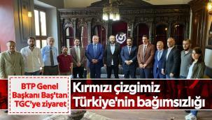 Kırmızı çizgimiz Türkiye'nin bağımsızlığı
