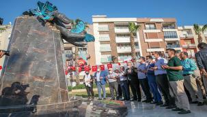 Srebrenitsa Soykırımı Menemen'de unutulmadı