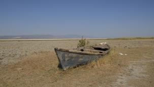 Marmara Gölü kurutuluyor