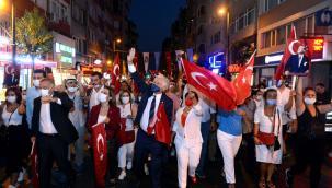 ŞİŞLİ BELEDİYESİ 30 AĞUSTOS ZAFER BAYRAMI'NI COŞKUYLA KUTLADI