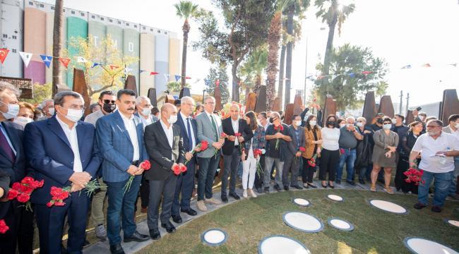 Başkan Soyer 10 Ekim Anıtı'nın açılışında konuştu:
