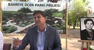 Bahriye Üçok Parkı yapımı için imzalar atıldı